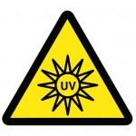 Avertissement lampe rayonnement UV